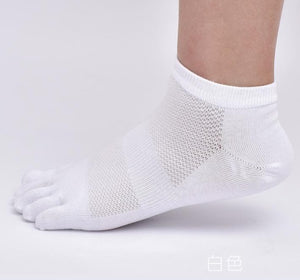 Sports Toe Ankle Socks - 5 Pack