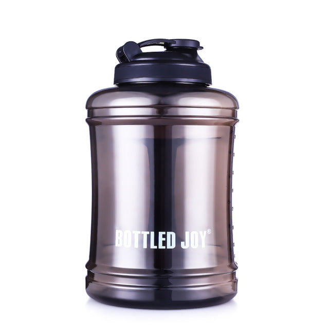 2.5L Large Capacity Sports Water Bottle Gym Drinking Water Bottle