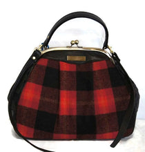 Load image into Gallery viewer, Style 6003 Lumberjack Plaid Frame Bag
