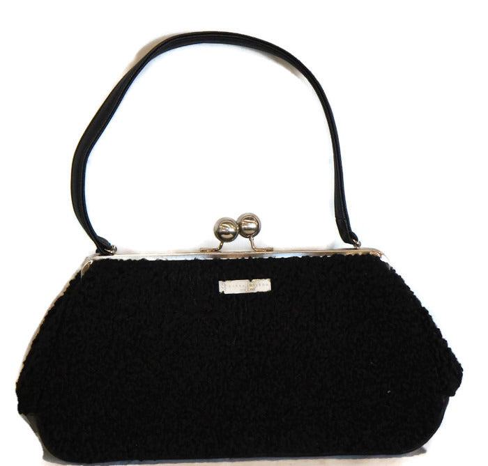 4051  Faux Persian Lamb/Black
