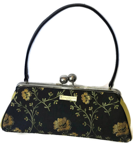 4090 Midnight Yellow Floral