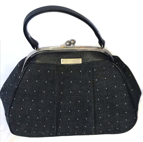6003 Denim Dot/Black