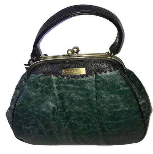 6003 Emerald Distressed Leather