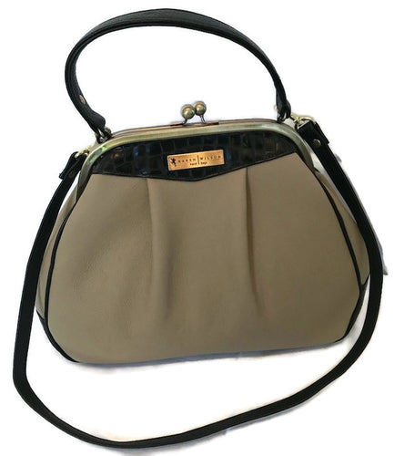 6003- Taupe Leather