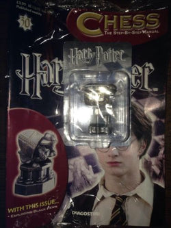Harry Potter Chess Piece. Black Pawn & Manual #30