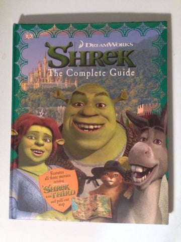 Dream Works Shrek The Complete Guide. Hard Cover Book