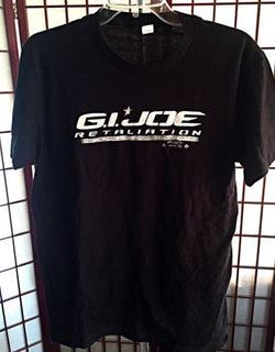 G I JOE Retaliation Skull Promo T Shirt