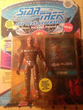 Star Trek The Next Generation Space Final Frontier Vorgen figure,cards and more