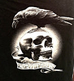 SDCC The Expendables Skull Raven T-Shirt Rare San Diego Comic Con New X L