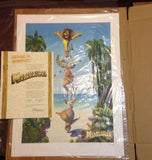 Madagascar Movie Collectible Numbered Lithograph W/COA