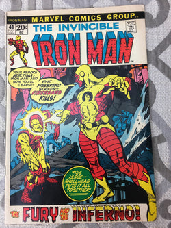 Marvel 1972 July #48 The Invincible Iron Man Comic Book