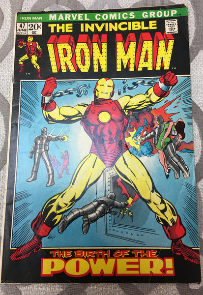 Iron Man #47 (Jun 1972, Marvel)
