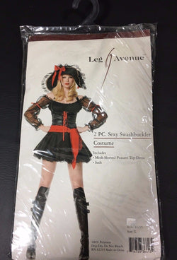 Leg Avenue Sexy Swashbuckler Pirate Halloween Costume Large