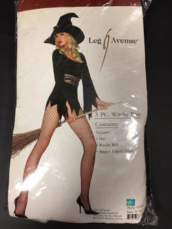 Leg Avenue Witchy-Poo Sorceress Sexy Witch Halloween Costume 83244