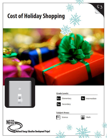 Cost of Holiday Shopping (Free PDF Download)