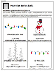 Holiday Decoration Activities