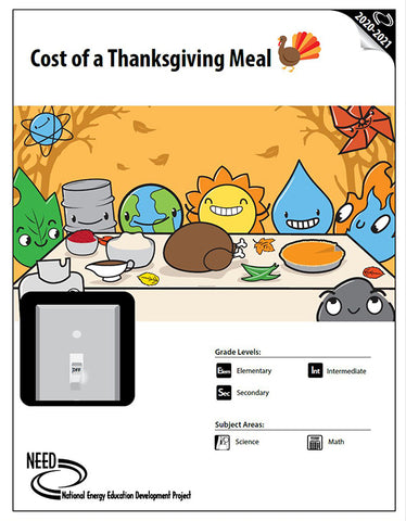 Cost of a Thanksgiving Meal (Free PDF Download)