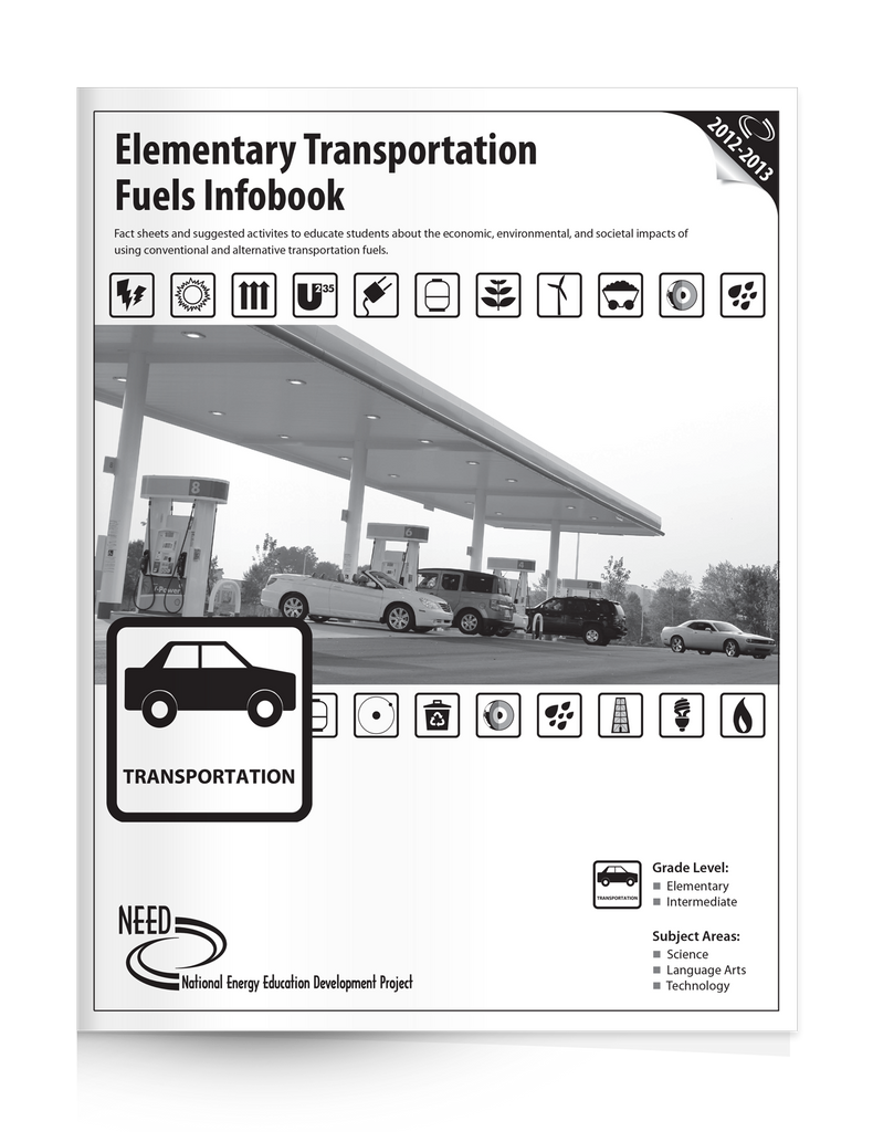 Elementary Transportation Fuels Infobook