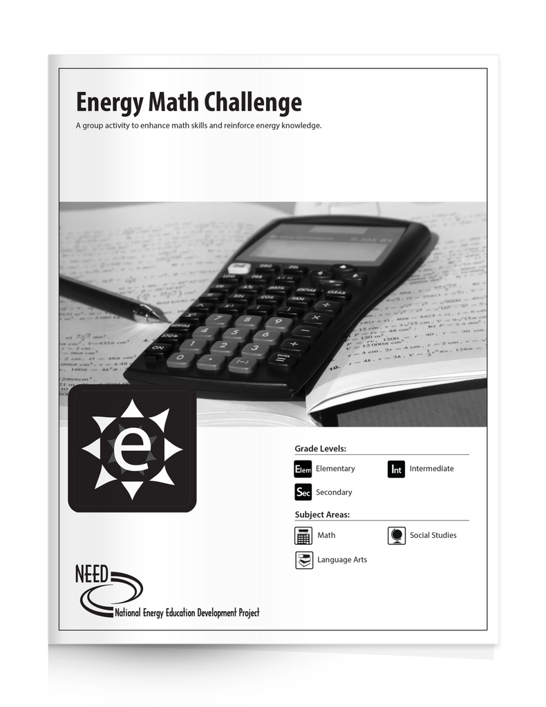 Energy Math Challenge (Free PDF Download)