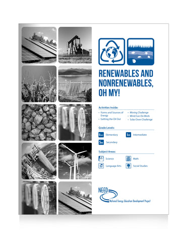 Renewables and Nonrenewables, Oh My! (Free PDF Download)