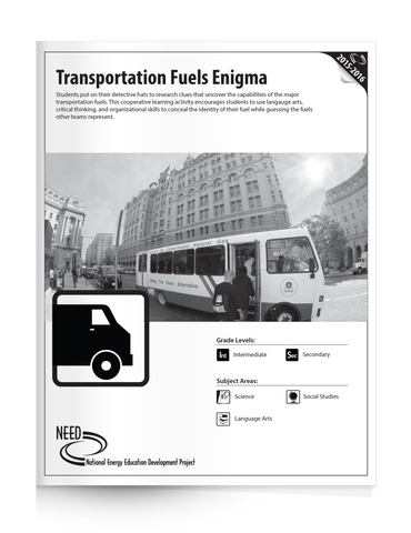 Transportation Fuels Enigma (Free PDF Download)