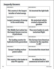 Energy Jeopardy (Free PDF Download)