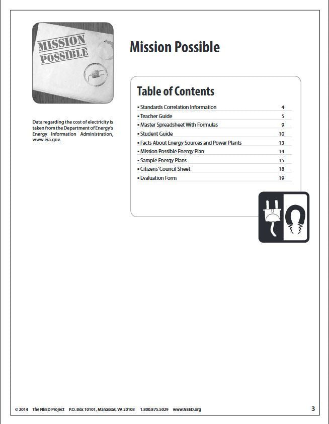 Mission Possible (Free PDF Download) – The NEED Project