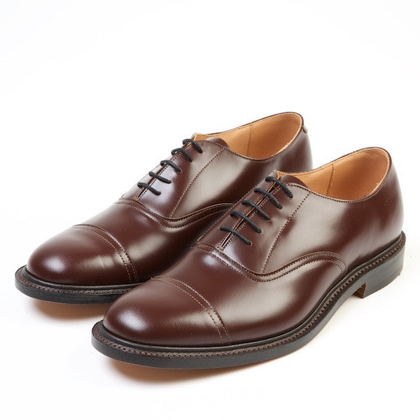 CORMORANT Capped Oxford Shoes