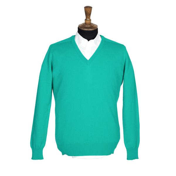 STARLING Men's Cashmere V-Neck Jumper