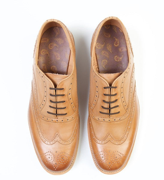 TERN Tan Brown Brogues