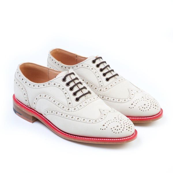 LARK Cream Brogues