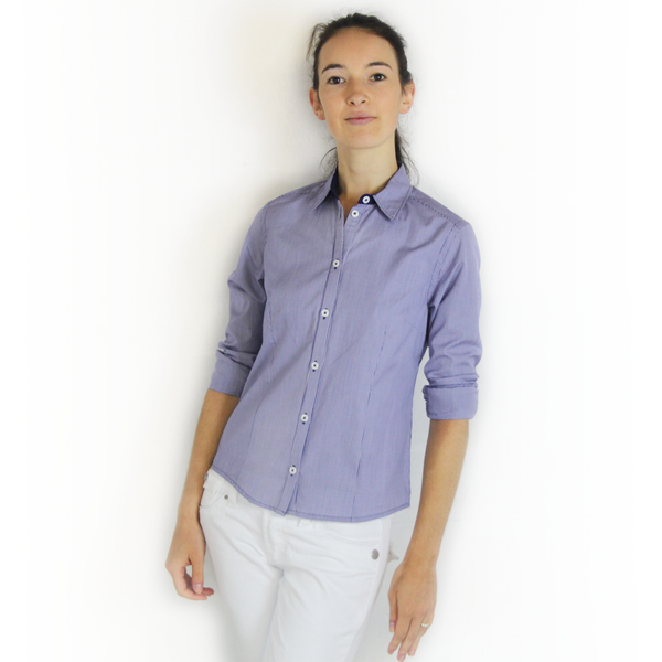 SWIFT Blue Gingham Shirt