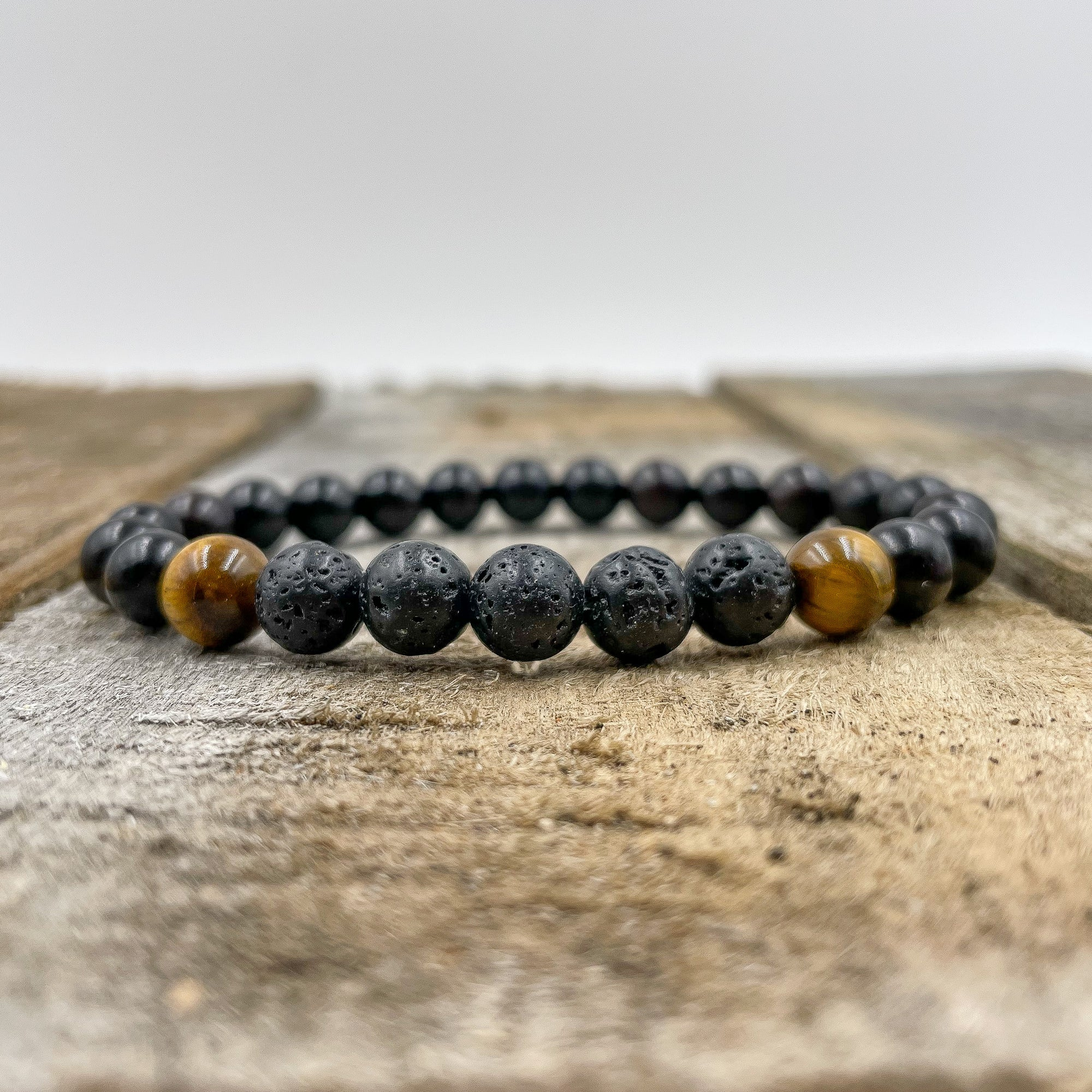 Kingston | Lava Rock - Tiger Eye - Blackwood