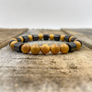 Henley | Yellow Sandalwood & Ebony Blackwood