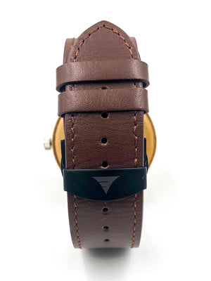 Kylemore | Bamboo Brown Leather