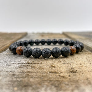 Kingston | Lava Rock - Sandalwood - Blackwood