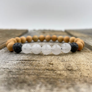 Kingston | Moonstone, Maple, & Lava Rock