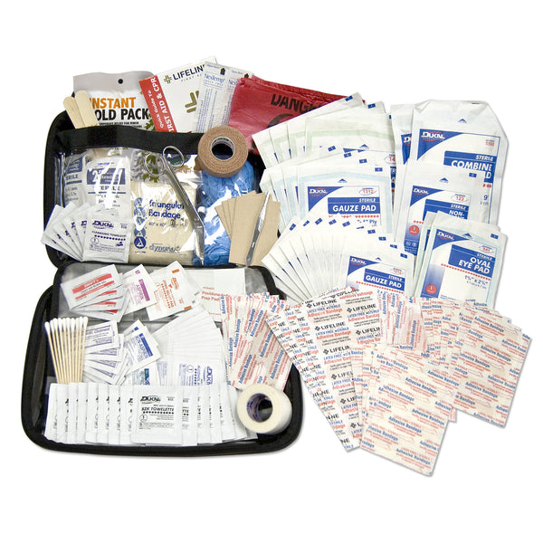 Lifeline PREMIUM HARD-SHELL FOAM FIRST AID KIT