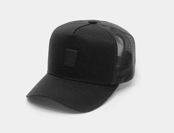 Boné Trucker - All Black