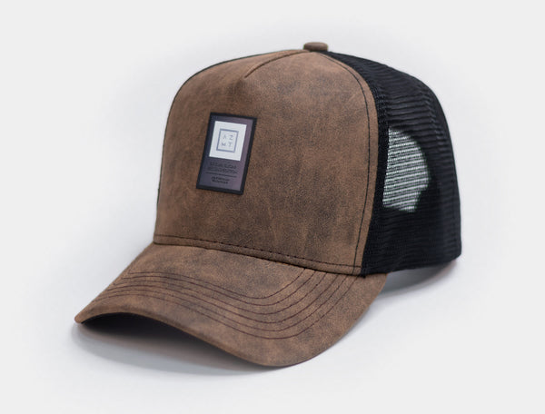 Trucker Cap AZMT Brown Sugar 01
