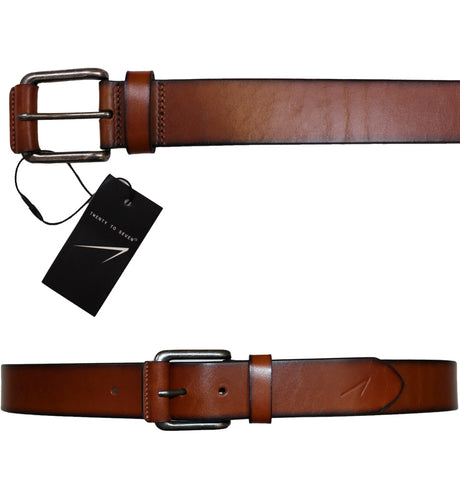 Twenty to Seven Leather Belt