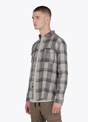 ZANEROBE Plaid Long Sleeve Shirt 3/4