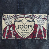 2000s JOOP Lightweight Metallic Zip-Front Jacket, NOS c