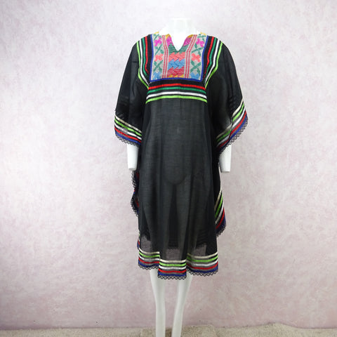 Vintage 80s MISSONI Lightweight V-Neck Knit Dress