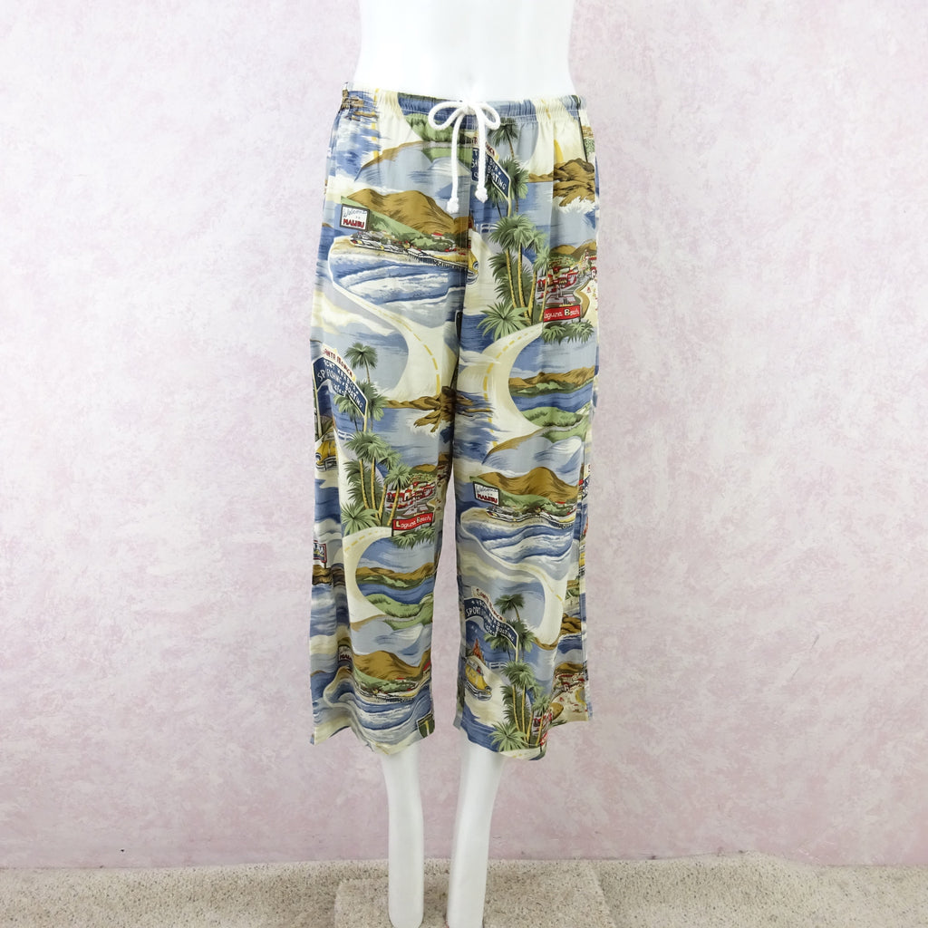"Vintage 90s THEODORE ""California"" Print Outfit f"