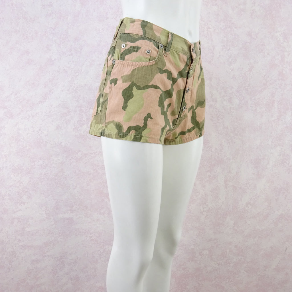 2000s Camouflage Cami / Shorts Outfit, NOS f