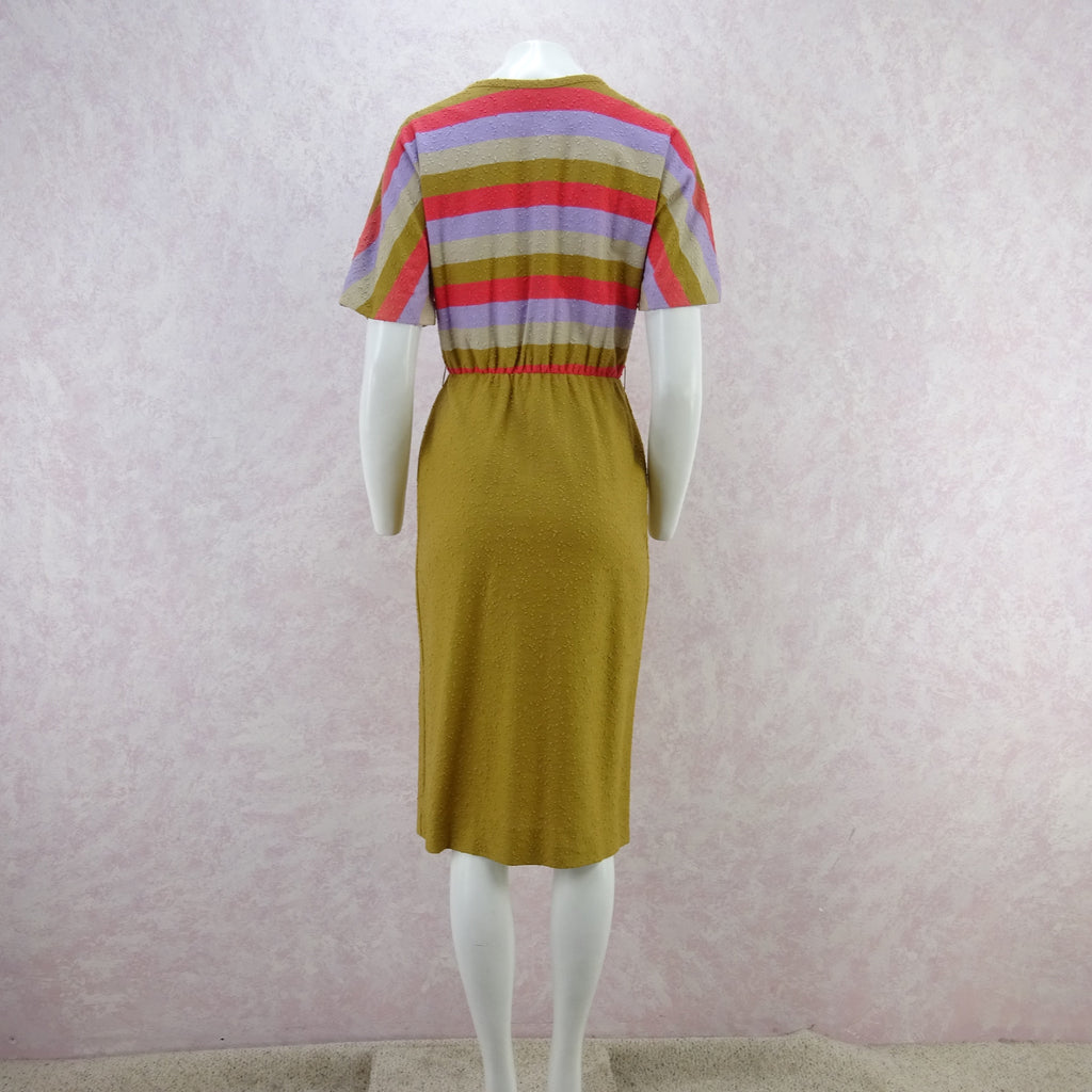 Vintage 60s KORET Nubby Cotton Knit Outfit, New Old Stock f
