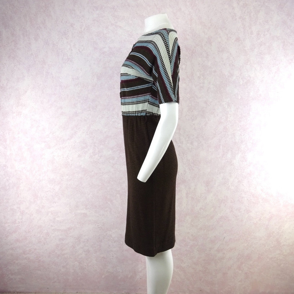 Vintage 60s KORET Cotton Knit Outfit- Dress & Cardigan f