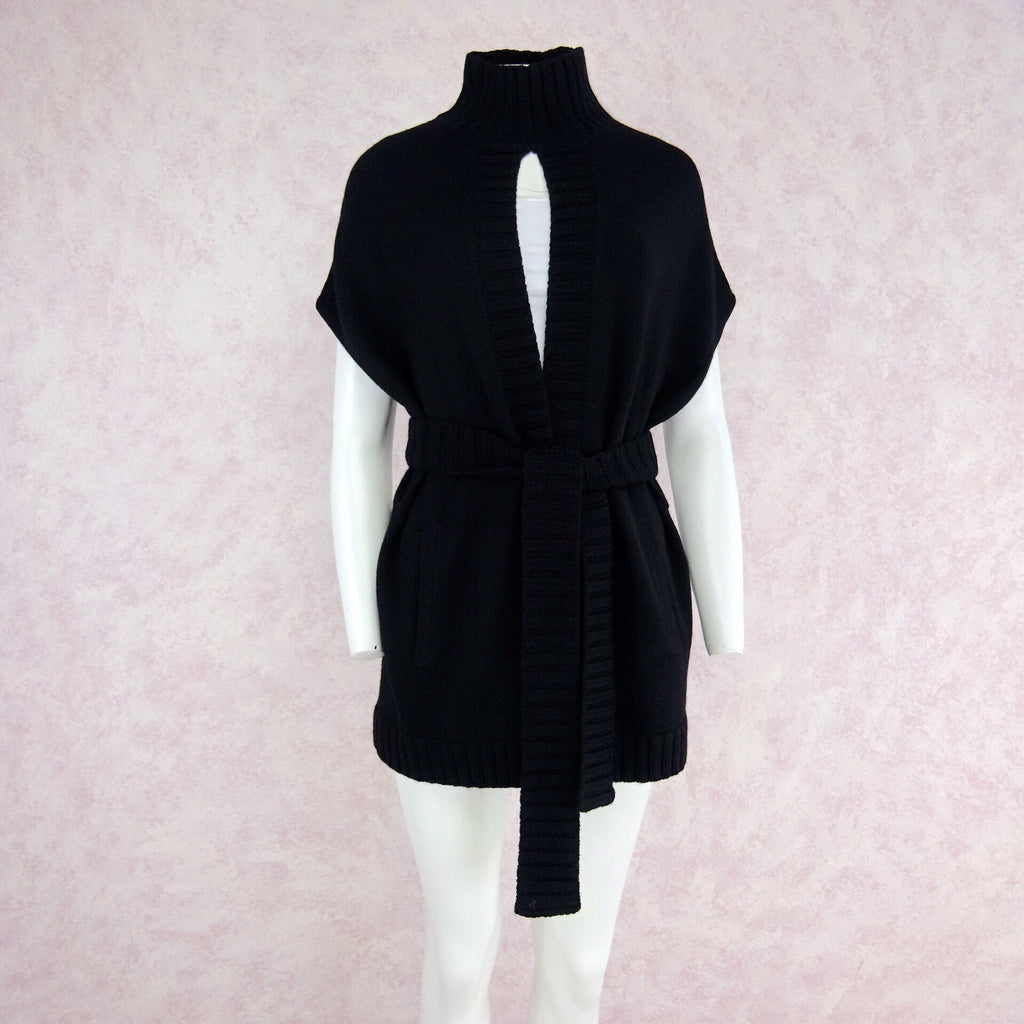 2000s ALICE + OLIVIA Sleeveless Belted Sweater, Front