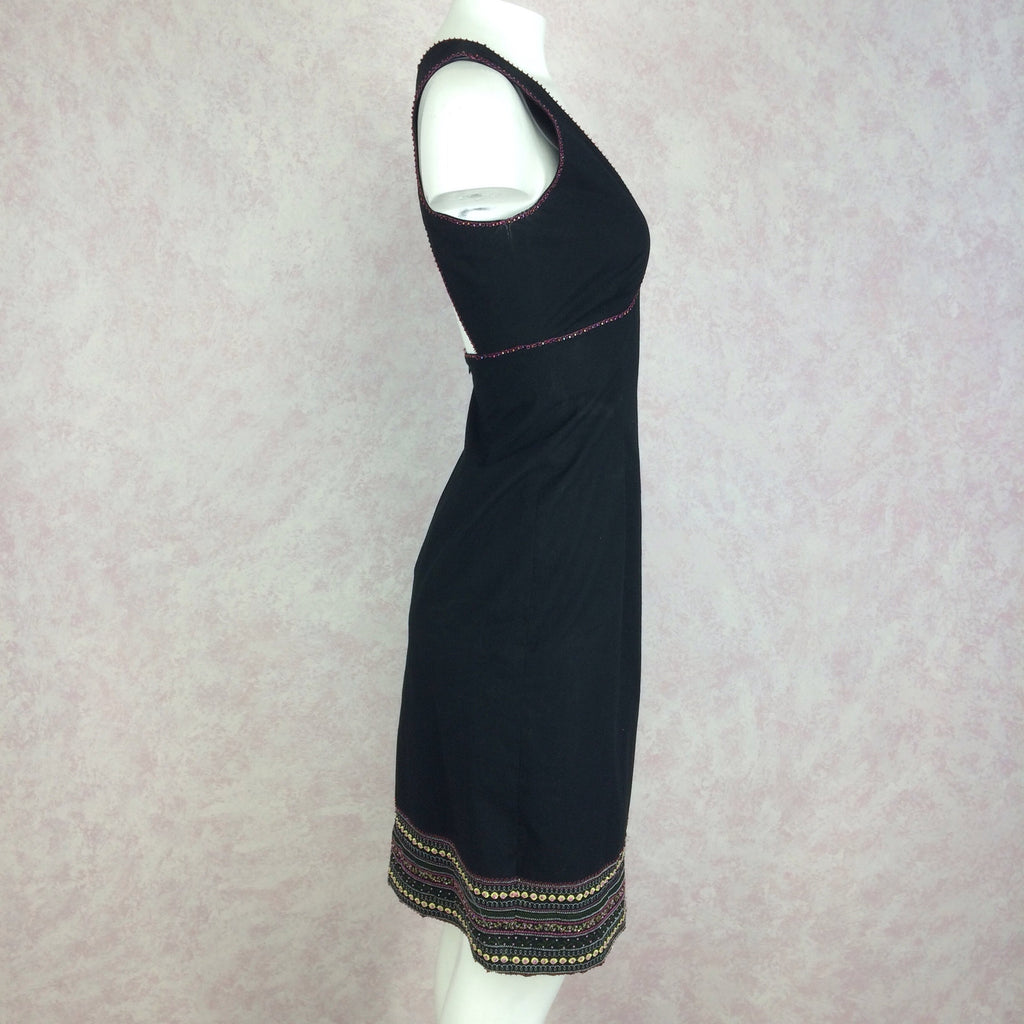 2000s BCBG Max Azria Dress w/Open Back, Side 2
